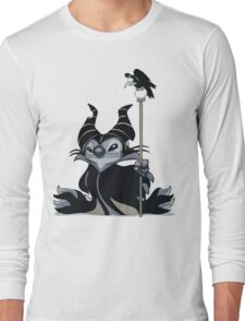 Maleficent Stitch Long Sleeve T-Shirt