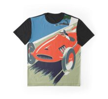 Retro style auto Grand Prix Rivièra Graphic T-Shirt