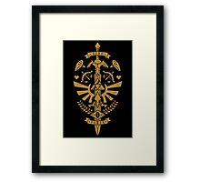 Zelda Crest Framed Print