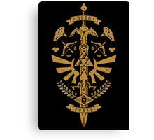 Zelda Crest Canvas Print