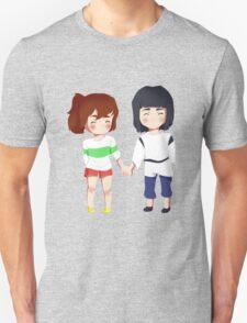 Spirited Away- Chihiro and Haku Unisex T-Shirt