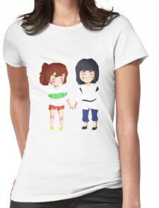 Spirited Away- Chihiro and Haku Womens Fitted T-Shirt