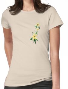 Myrtle Blossoms Womens Fitted T-Shirt