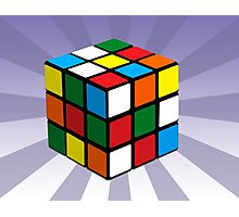 Puzzle Cube Photographic Print
