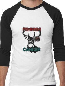 Anti-Feminism Stag Men's Baseball ¾ T-Shirt