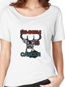 Anti-Feminism Stag Women's Relaxed Fit T-Shirt