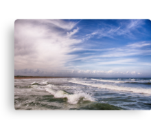 North Sea Coast Canvas Print