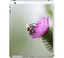 The Bee and The Thistle iPad Case/Skin