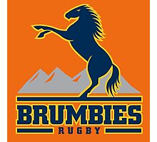 BRUMBIES RUGBY Photographic Print