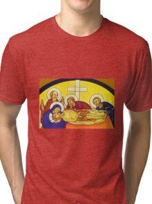 Large Cross Tri-blend T-Shirt