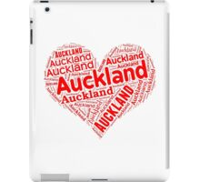 Auckland - Red Heart iPad Case/Skin
