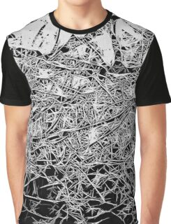 Black and White abstraction, pattern Graphic T-Shirt