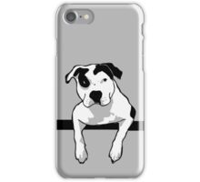 Pit Bull T-Bone Graphic  iPhone Case/Skin