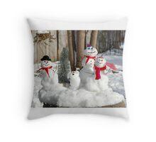 Let it Snow, Let it Snow, Let it Snow Throw Pillow