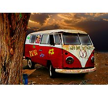 THE HIPPIES HAVE ALL GONE NOW.......... Photographic Print