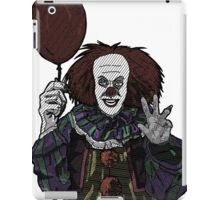 Pennywise the Clown, From Stephen King's IT  iPad Case/Skin