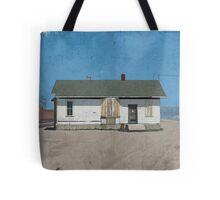 414 Hall Building Illustration Tote Bag