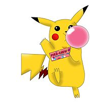 Pika-Chew! Photographic Print