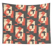 Geometrical abstract art deco mash-up 1 Wall Tapestry