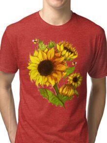Sunflowers Tri-blend T-Shirt