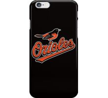baltimore orioles iPhone Case/Skin
