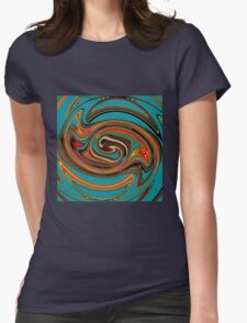Blue Stone (thisway) Womens Fitted T-Shirt