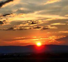 Good Night Shenandoah Valley Sticker