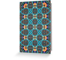 Scale Patterns Galore Greeting Card