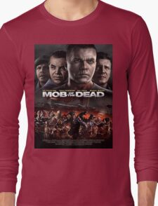Call of Duty: Black Ops 2 Zombies - Mob of The Dead Artwork Long Sleeve T-Shirt