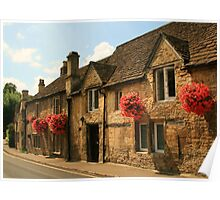 Castle Combe Cottages Poster