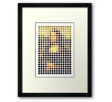 Mona Lisa Reinterpreted Framed Print