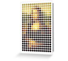 Mona Lisa Reinterpreted Greeting Card