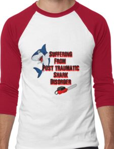 Post traumatic shark Disorder Men's Baseball ¾ T-Shirt