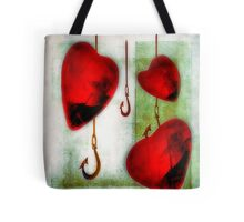 Hearts and Hooks Tote Tote Bag