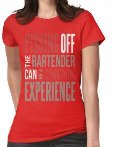 bartender t shirt, bartender hoodie, funny bartender Womens Fitted T-Shirt