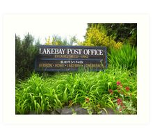 Lakebay, Washington Art Print