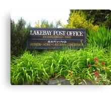 Lakebay, Washington Canvas Print