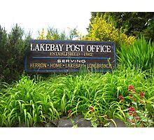 Lakebay, Washington Photographic Print