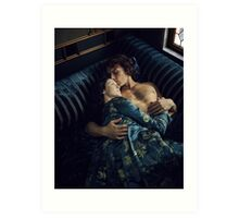 Jamie and Claire Outlander Art Print