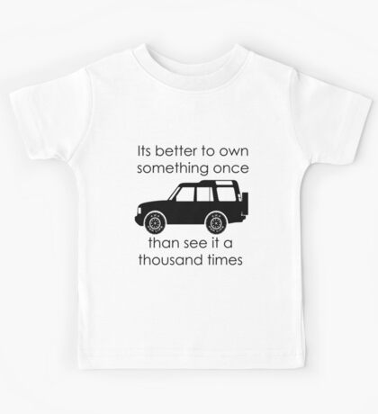 Discovery - Own IT Kids Tee