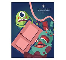 Monsters Inc. Photographic Print