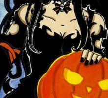 Ann in Halloween Town  Sticker
