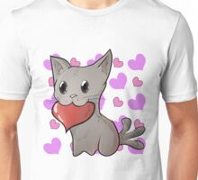 Valentines Pets - Kitty v02 Unisex T-Shirt