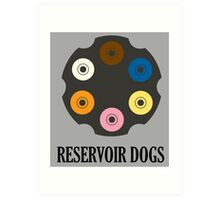 -TARANTINO- Reservoir Dogs Art Print