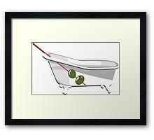 Bathtub Gin Framed Print