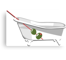 Bathtub Gin Canvas Print