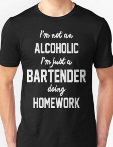 bartender, bartender t shirt, bartender hoodie Unisex T-Shirt