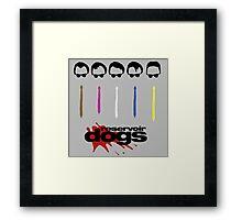-TARANTINO- Reservoir Dogs Framed Print