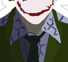 Joker Silhouette - Heath Sticker