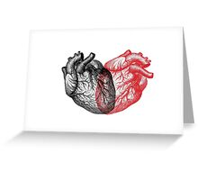 Heart made from Hearts Greeting Card